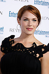 BEVERLY HILLS, CA. - September 20: Actress Amanda Righetti arrives at Entertainment Weekly's 6th annual pre-Emmy celebration presented by Revlon at the Historic Beverly Hills Post Office on September 20, 2008 in Beverly Hills, California.