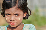 A Rohingya girl in the Jamtoli Refugee Camp near Cox's Bazar, Bangladesh. More than 600,000 Rohingya refugees have fled government-sanctioned violence in Myanmar for safety in this and other camps in Bangladesh.
