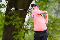 Rory McIlroy (IRL) watches his tee shot on 18 during round 3 of the World Golf Championships, Mexico, Club De Golf Chapultepec, Mexico City, Mexico. 3/4/2017.<br /> Picture: Golffile | Ken Murray<br /> <br /> <br /> All photo usage must carry mandatory copyright credit (&copy; Golffile | Ken Murray)