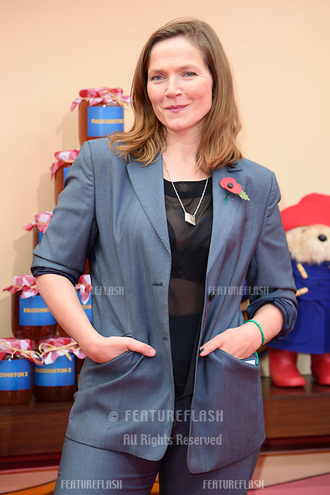 Jessica Hynes at the &quot;Paddington 2&quot; premiere at the NFT South Bank, London, UK. <br /> 05 November  2017<br /> Picture: Steve Vas/Featureflash/SilverHub 0208 004 5359 sales@silverhubmedia.com