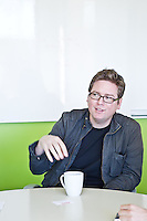 Biz Stone pictures: Executive portrait photography of Isaac Biz Stone cofounder of Twitter by San Francisco corporate photographer Eric Millette