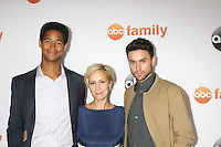 Alfred Enoch, Liza Weil, Jack Falahee<br /> at the ABC TCA Summer Press Tour 2015 Party, Beverly Hilton Hotel, Beverly Hills, CA 08-04-15<br /> David Edwards/DailyCeleb.com 818-249-4998