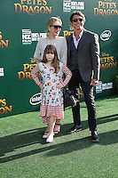 HOLLYWOOD, CA- AUGUST 8:  Lou Diamond Phillips at the Disney premiere of 'Pete's Dragon' at El Capitan Theater in Hollywood, California, on August 8, 2016. Credit: David Edwards/MediaPunch