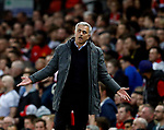 Jose Mourinho manager of Manchester United during the Europa League Semi Final 2nd Leg match at Old Trafford Stadium, Manchester. Picture date: May 11th 2017. Pic credit should read: Simon Bellis/Sportimage