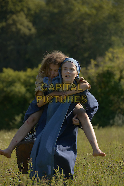 Ariana Rivoire, Isabelle Carre<br /> in Marie's Story (2014) <br /> (Marie Heurtin)<br /> *Filmstill - Editorial Use Only*<br /> CAP/NFS<br /> Image supplied by Capital Pictures