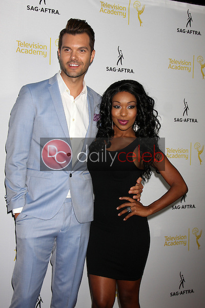 A.J. Gibson, Porscha Coleman<br />