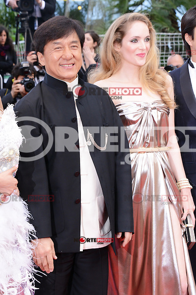 "Jackie Chan attending the ""De Rouille et D'os"" Premiere during the 65th annual International Cannes Film Festival in Cannes, 17th May 2012...Credit: Timm/face to face /MediaPunch Inc. ***FOR USA ONLY***"