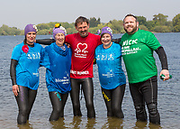 Great East Swim Photocall -Alton Water