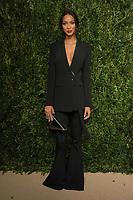NEW YORK, NY - NOVEMBER 6: Lais Ribeiro at the 14th Annual CFDA Vogue Fashion Fund Gala at Weylin in Brooklyn, New York City on November 6, 2017. Credit: John Palmer/MediaPunch