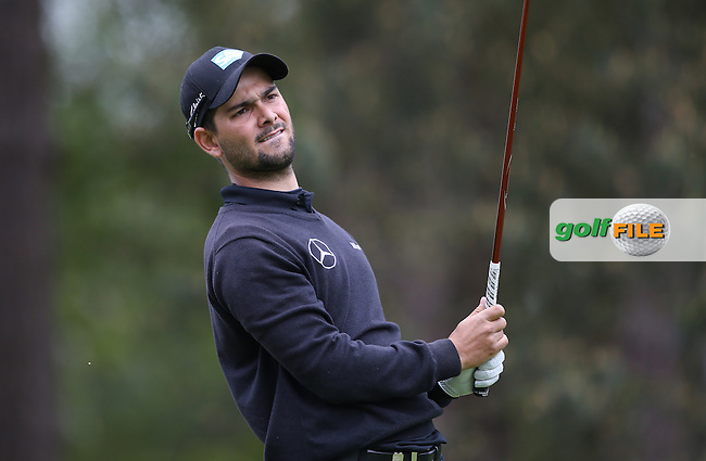 Moritz Lampert (GER) during Round Two of the 2015 BMW PGA Championship over the West Course at Wentworth, Virginia Water, London. 22/05/2015Picture David Lloyd, www.golffile.ie.