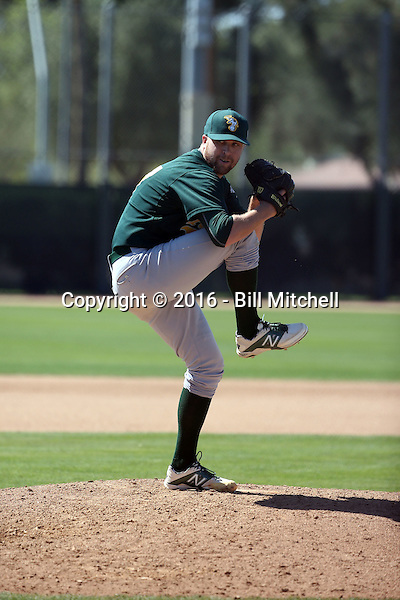 Andrew Tomasovich - Oakland Athletics 2016 spring training (Bill Mitchell)