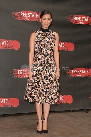 LOS ANGELES, CA - MAY 11: Gugu Mbatha-Raw at the photo call for STX Entertainment's 'Free State Of Jones' at the Four Seasons Hotel Los Angeles at Beverly Hills on May 11, 2016 in Los Angeles, California. Credit: David Edwards/MediaPunch