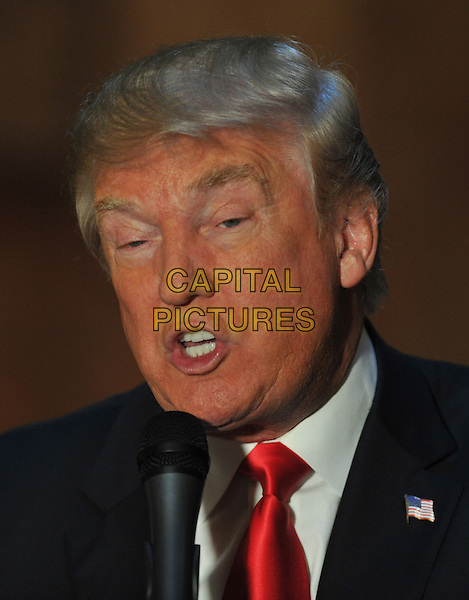New York, NY- November 3: Donald J. Trump at his Press Conference about his new book CRIPPLED AMERICA at Trump Tower in New York City on November 3, 2015. <br /> CAP/MPI/STV<br /> &copy;STV/MPI/Capital Pictures