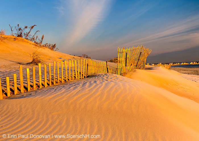Hampton Beach, New Hampshire which is part of the New England USA seacoast