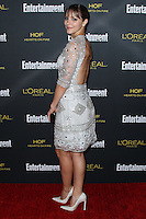 WEST HOLLYWOOD, CA, USA - AUGUST 23: Katharine McPhee arrives at the 2014 Entertainment Weekly Pre-Emmy Party held at the Fig & Olive on August 23, 2014 in West Hollywood, California, United States. (Photo by Xavier Collin/Celebrity Monitor)