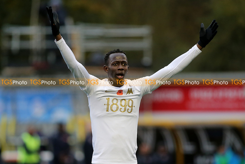 Saikou Janneh of Torquay United during Maidstone United vs Torquay United, Emirates FA Cup Football at the Gallagher Stadium on 9th November 2019
