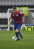 Jamie McKernon in the St Mirren v Motherwell Clydesdale Bank Scottish Premier League U20 match played at St Mirren Park, Paisley on 10.9.12...