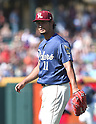 Yu Darvish (Riders),<br /> MAY 1, 2016 - MLB :<br /> Pitcher Yu Darvish of the Frisco RoughRiders during the minor's Double-A Texas League baseball game against the Corpus Christi Hooks at Dr Pepper Ballpark in Frisco, Texas, United States. (Photo by AFLO)
