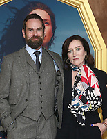"HOLLYWOOD, CA - FEBRUARY 13: Duncan LaCroix, Maria Doyle Kennedy, at the Premiere Of Starz's ""Outlander"" Season 5 at HHollywood Palladium in Hollywood California on February 13, 2020. Credit: Faye Sadou/MediaPunch"