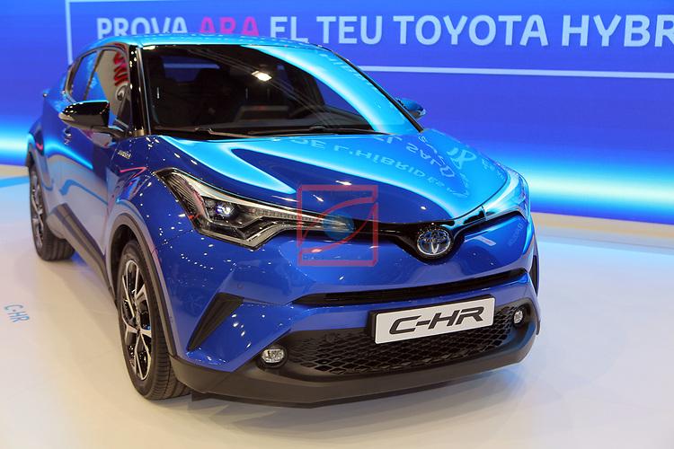 Automobile Barcelona 2017.<br /> Stand Toyota.
