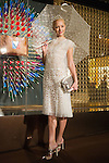 March 16, 2012, Tokyo, Japan - Model Anna Tsuchiya attends a photo call for a Kim Jones event at the Louis Vuitton store in Roppongi Hills. (Photo by Christopher Jue/AFLO)