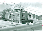 Beth El Synagogue in Waterbury, 1991.