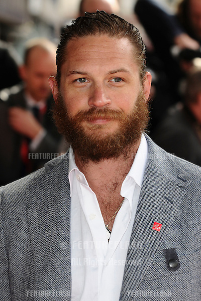 Tom Hardy arriving for the The Prince's Trust Celebrate Success Awards 2012 at the Odeon Leicester Square, London. 14/03/2012 Picture by: Steve Vas / Featureflash