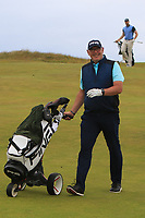Gary Cullen (The Links Portmarnock) on the 17th during Round 2 of the North of Ireland Amateur Open Championship 2019 at Portstewart Golf Club, Portstewart, Co. Antrim on Tuesday 9th July 2019.<br /> Picture:  Thos Caffrey / Golffile<br /> <br /> All photos usage must carry mandatory copyright credit (© Golffile | Thos Caffrey)