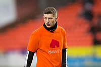 16th November 2019; Tannadice Park, Dundee, Scotland; Scottish Championship Football, Dundee United versus Queen of the South; Cammy Smith of Dundee United during the warm up before the match  - Editorial Use