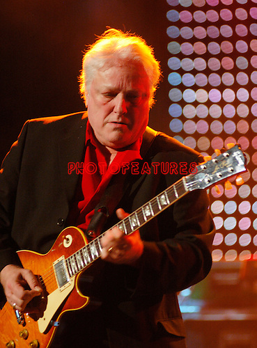 Dick Wagner..at Alice Cooper's Christmas Pudding show to benefit his Solid Rock Foundation for children, Dodge Theatre in Phoenix, December 17th 2005...Photo by Chris Walter/Photofeatures