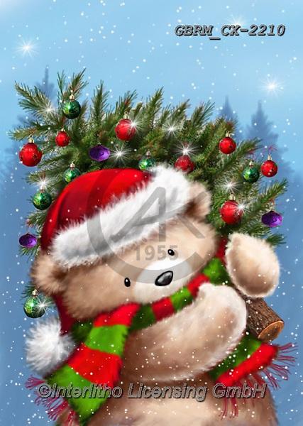 Roger, CHRISTMAS ANIMALS, WEIHNACHTEN TIERE, NAVIDAD ANIMALES, paintings+++++,GBRMCX-2210,#xa#