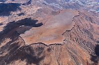 Namibia, Gamsberg, Tafelberg, Naturdenkmal, Max Planck Institut für Astronomie, Sternwarte, Hakosgebirge, Basalt, Berg, Luftbild, Wissenschaftsstandort, 2347 Meter hoch,