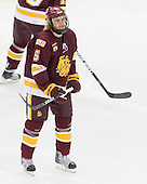 Trent Palm (Duluth - 5) - The University of Minnesota-Duluth Bulldogs defeated the University of Michigan Wolverines 3-2 (OT) to win the 2011 D1 National Championship on Saturday, April 9, 2011, at the Xcel Energy Center in St. Paul, Minnesota.