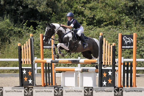 Class 5. British showjumping juniors. Brook Farm Training Centre. Essex. UK. 08/07/2018. ~ MANDATORY Credit Garry Bowden/Sportinpictures - NO UNAUTHORISED USE - 07837 394578