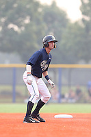 First overall draft pick in the 2015 Major League Baseball Player Draft, Dansby Swanson (7) of the Hillsboro Hops leads off of second base during a game against the Boise Hawks at Ron Tonkin Field on August 22, 2015 in Hillsboro, Oregon. Boise defeated Hillsboro, 6-4. (Larry Goren/Four Seam Images)