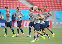 USMNT Training, Recife, Wednesday, June 25, 2014