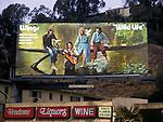 Steve Miller billboard on the Sunset Strip circa 1972