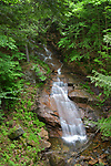 Liberty Cascade at Franconia Notch State Park, Vermont.