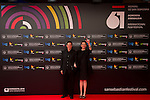 San Sebastian, Spain, 20/09/2013<br />  Alfombra roja de la Gala Inaugural del 61 International Film Festival<br />  Arie Posin , Annette Bening