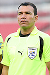 15 March 2008: Referee Erico Wijngaarde (SUR). The United States U-23 Men's National Team defeated the Honduras U-23 Men's National Team 1-0 at Raymond James Stadium in Tampa, FL in a Group A game during the 2008 CONCACAF's Men's Olympic Qualifying Tournament.
