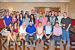 Barry Fitzgerald Towbwee, Castleisland seated centre who celebrated his 21st birthday with his family and friends in the Crown Hotel Castleisland on Friday night..