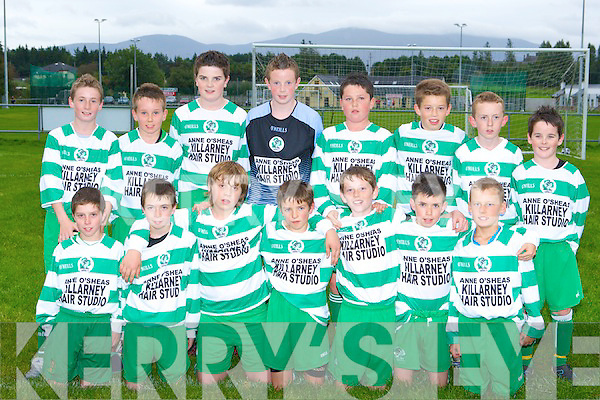 The Killarney Celtic  that played Kenmare team in Killarney on Thursday evening