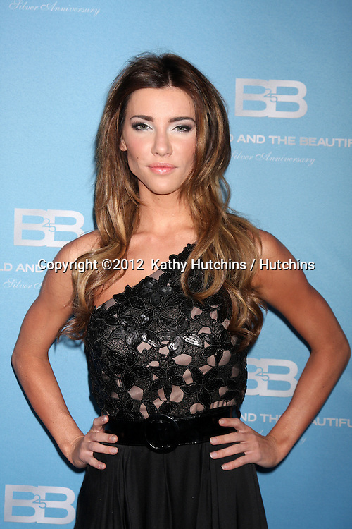 LOS ANGELES - MAR 10:  Jacqueline MacInnes Wood arrives at the Bold and Beautiful 25th Anniversary Party at the Perch Resturant on March 10, 2012 in Los Angeles, CA