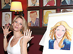 Kelli O'Hara.attending the unveiling of the Sardi's Kelli O'Hara Caricature in New York City on June 5, 2012.