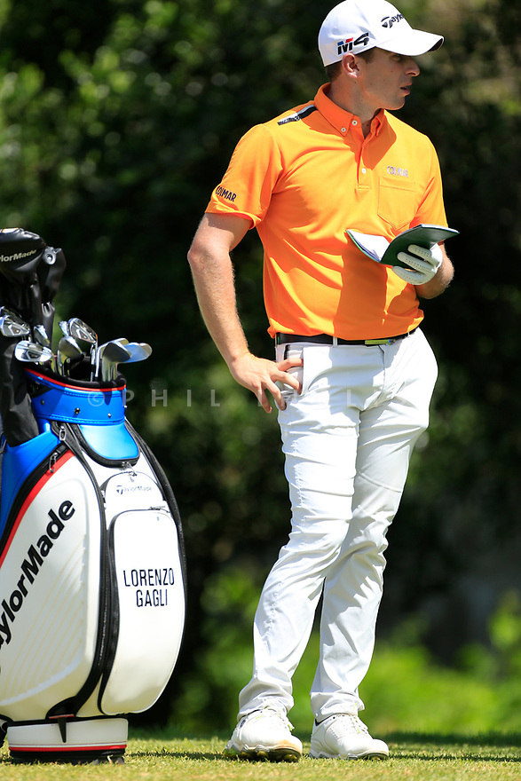Lorenzo Gagli (ITA) during the third round of the Barclays Kenya Open played at Muthaiga Golf Club, Nairobi, Kenya 22nd - 25th March 2018 (Picture Credit / Phil Inglis) 22/03/2018<br /> <br /> <br /> All photo usage must carry mandatory copyright credit (&copy; Golffile | Phil Inglis)