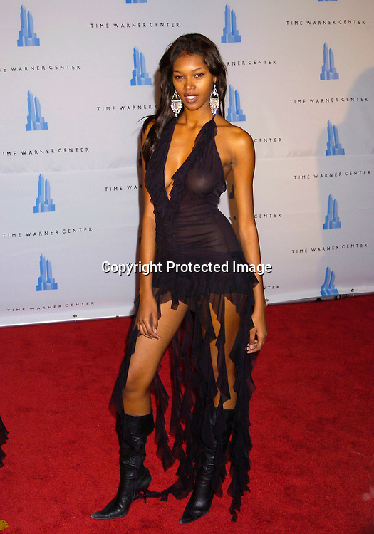 Jessica White..at the grand opening of the Time Warner Center in New York City on February 4, 2004. Photo by Robin Platzer, Twin Images