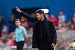 Atletico de Madrid Head Coach Diego Simeone during the La Liga match between Atletico de Madrid vs Villarreal CF at the Estadio Vicente Calderon on 25 April 2017 in Madrid, Spain. Photo by Diego Gonzalez Souto / Power Sport Images