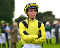 Jockey Megan Nicholls during Horse Racing at Salisbury Racecourse on 15th August 2019