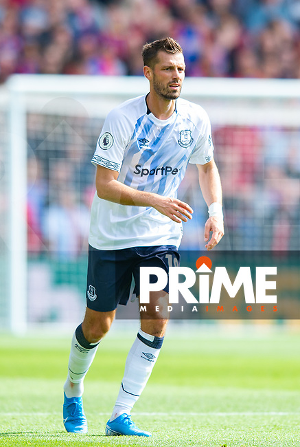 Everton Morgan Schneiderlin during the Premier League match between Crystal Palace and Everton at Selhurst Park, London, England on 10 August 2019. Photo by Andrew Aleksiejczuk / PRiME Media Images.