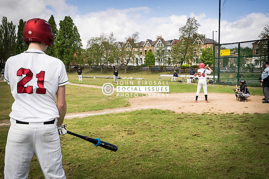 London Mets baseball team, Finsbury Park, London